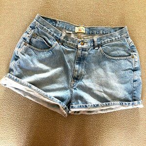 County Seat Vintage High Waisted Mom Jean Shorts